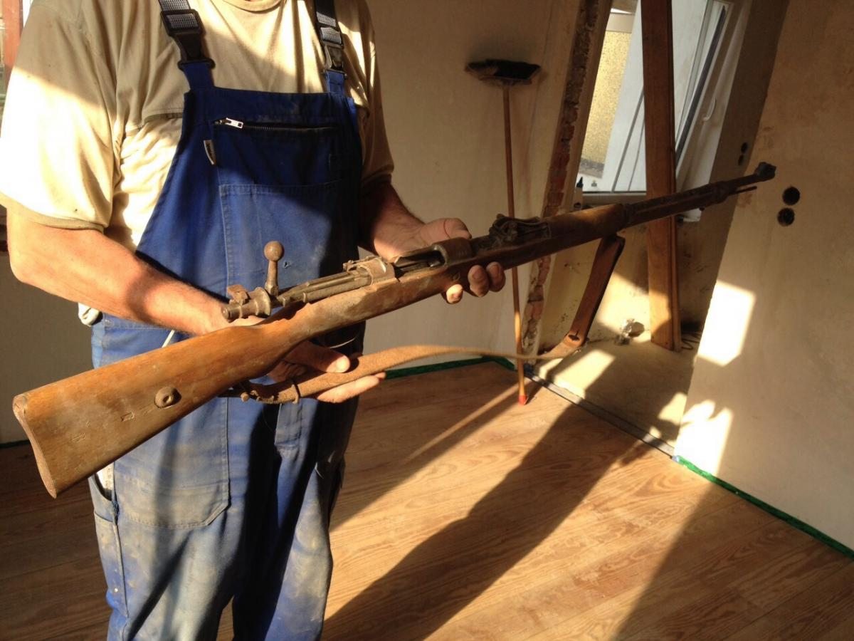 Alte Waffen Gefunden